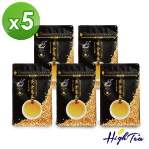 High Tea 黃金蕎麥茶15入x5袋(年銷售量120000包)
