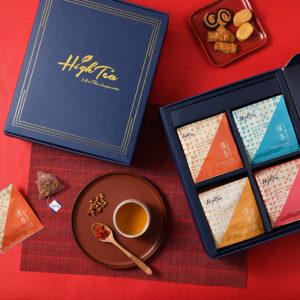 【新年禮盒預購】富貴四禧伴手禮|整組內含:人蔘黃耆茶+牛蒡養生茶+山楂洛神玫瑰茶+美顏紅棗茶(32包入)