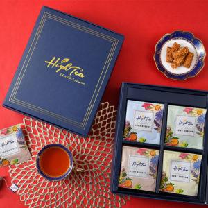 【新年禮盒預購】富貴四禧伴手禮|整組內含:黑豆菊花茶+黑豆穀物茶+黑豆桂花茶+黑豆牛蒡茶(32包入)